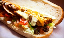 $10 for a Sub or Donair Meal with Sodas for Two at Subcity Donair (Up to $20.58 Value)
