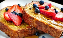 Sunday Brunch and Mimosas for Two or Four at Liv2Eat (Up to 52% Off) 