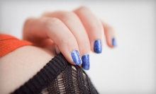 Shellac Manicure and Regular Pedicure, or Mani-Pedi with Heel Scrub and Paraffin at O'Haira Salon (Up to 54% Off)