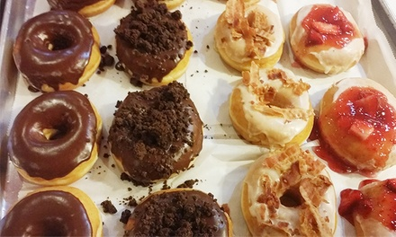 Donut or Cupcake and Coffee for One Month, One Dozen Cupcakes, or Desserts at Cupcake Diva Girlz (Up to 59% Off)