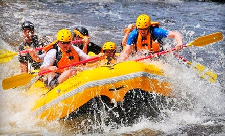 $50 for a Whitewater-Rafting Tour for Two from Northwood&#x27;s Adventures in Vulcan (Up to $109.90 Value)