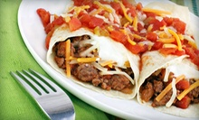 Mexican Food at Hak-A-Lito Grill (Half Off). Two Options Available.