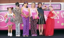 Glittery Glam or Party Princess Spa Package for 1 Girl or Spa Fashion Party for Up to 8 at Sweet &amp; Sassy (Up to 55% Off)