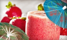 Tiki-Bar Rental with Bartending Service and Fruit Smoothies from Maui Wowi (Up to 62% Off). Three Options Available.