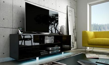 Móvel de televisão disponível em três cores e com opção de luzes LED desde 129,90 €