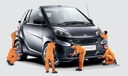 Auto Bemguiados — Vila do Conde: revisão de Smart com óleo, alinhamento de direção, higienização do AC e mais por 39,90€