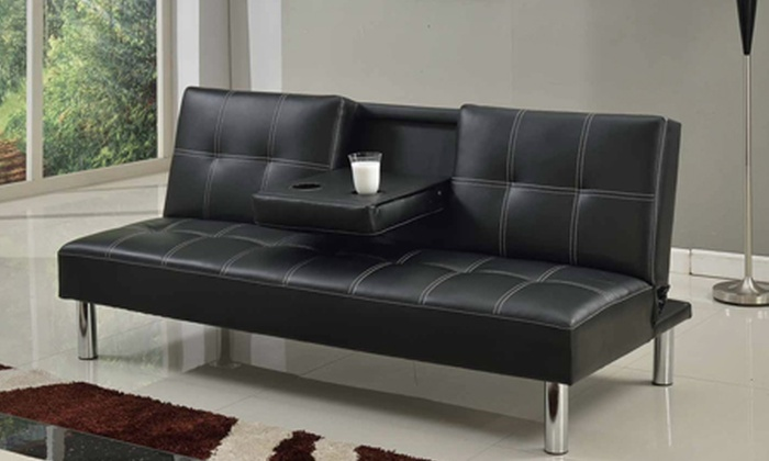 World of sofa beds deal of the day groupon for Sofa bed groupon