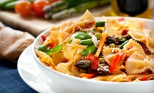 American-Fusion Cuisine and Drinks for Lunch or Dinner at The Mad Chef Cafe & Grill (Up to 52% Off)