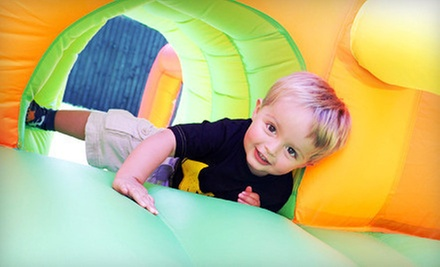 Bounce Visit Wednesday–Friday or Saturday and Sunday for Two or Four at Hoppers Fun House (Up to 54% Off)
