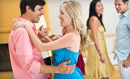 5, 10, or 20 Ballroom-Dance or Salsa Classes for an Individual or a Couple at Columbus Dance Centre (Up to 81% Off)