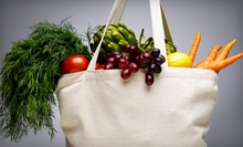 $39 for a One-Year Co-op Membership, Bag of Produce, and an Infrared Steam-Pod Treatment at OKC Organics ($100 Value)