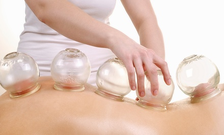 Cupping Massage with Optional Acupuncture Sessions at 12 Meridians Acupuncture (Up to 69%Off)
