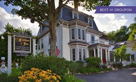groupon daily deal - 2-Night Stay for Two in a Nonsuite Room with Wine and Chocolates at Hartstone Inn in Camden, ME. Combine Up to 4 Nights.