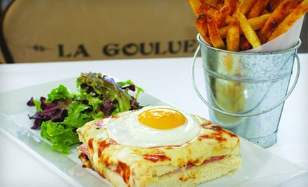 French Dinner for Two or More, or Four or More at La Goulue (Up to 55% Off)