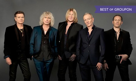 Def Leppard with Styx and Tesla at PNC Bank Arts Center on Saturday, July 25, at 7 p.m. (Up to 41% Off)