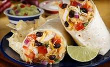 Three or Six Custom Burritos at Cowboy Burrito (Up to 55% Off)