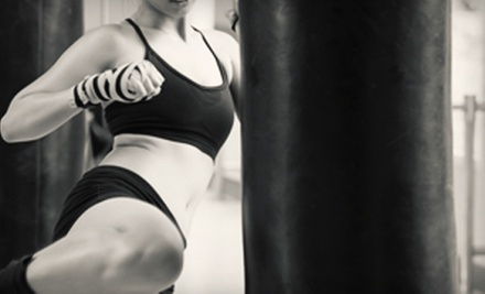 Boxing or Kickboxing Classes at 1144 Athletics (Up to 85% Off). Two Options Available.