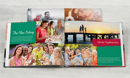 $29 for $90 Worth of Custom Photo Books from Photobook America