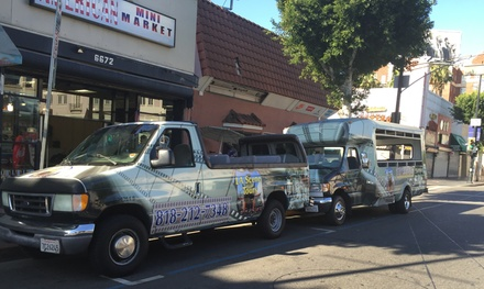 Up to 52% Off Celebrity Bus Tour at LA Scene Tours