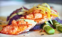 Seafood and American Fare for Dinner at Acquabar Bistro and Lounge or Lunch at Acquabar Caf (Half Off)
