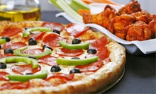 Pizza, Appetizers, and Beer for Two or Four at Brewskeez (Up to 51% Off)