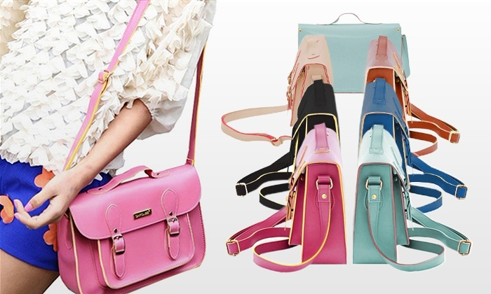 Mala satchel disponível em seis cores por 14,99€