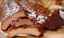 Barbecue Food and Drinks at Hickory House Ribs (Up to Half Off). Three Options Available.