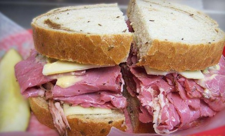 Sandwiches and Deli Fare for Dinner or Breakfast or Lunch at Brooklyn Deli (Half Off)