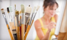 Pottery-Painting Studio and Supplies for Two or Four at DIY Studio (Half Off)
