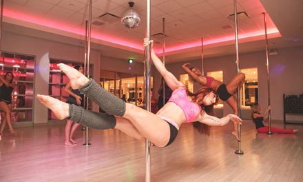 Five Classes, or a One-Month Pink Membership at Flirty Girl Fitness (Up to 63% Off)