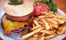 Burgers, Wings, and Pizza at The Grill on 21st Street (Half Off). Four Options Available.