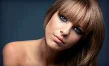 Haircut, Highlights, or Root Touchup Packages at Monroe Salon Spa (Up to 57% Off). Three Options Available.