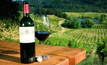 VIP Wine Tasting for Two or Four with Three Tasting Rooms and Take-Home Bottle from Sonoma on the Spot (Up to 72% Off)