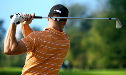 $62 for 18-Hole Round of Golf for Four with Cart, Range Balls, and Drinks (Up to $178 Value)