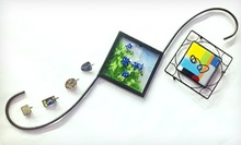 Handmade Glass Artwork Class at Stained Glass Crafters Workbench (Half Off). Three Options Available.