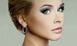 1/4 Cttw Black Diamond Hoop Earrings In Sterling Silver