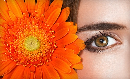 Three or Six Sessions of Eyebrow, Upper-Lip, or Chin Threading at AuM Body &amp; Soul Spa (Up to 56% Off)