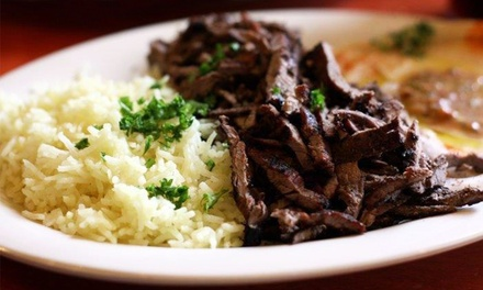 $14 for $24 Worth of Mediterranean Lunch or Dinner Entrees at O'Falafel Etc.