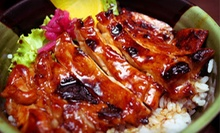 $10 for $20 Worth of Japanese Cuisine at Teriyaki Don
