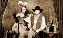 "$15 for an Old-Time Photo Shoot for Up to Four and an 8""x10"" Print at The Tintypery (Up to $45.05 Value)"