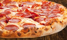 Pizza, Burgers, and Pasta from Big John's Pizza (Up to 53% Off). Two Options Available.