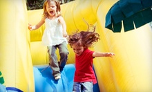 Attractions and Beverages for One or Three Kids, or a Family Fun Pack at Puzzle's Fun Dome (Up to 63% Off)