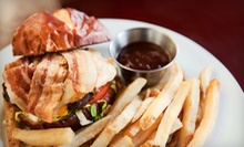 Pub Fare and Drinks at Ladder 133 Sports Bar &amp; Grill (Up to 56% Off). Two Options Available.