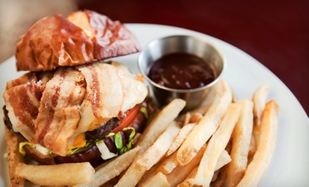 Pub Fare and Drinks at Ladder 133 Sports Bar & Grill (Up to 56% Off). Two Options Available.