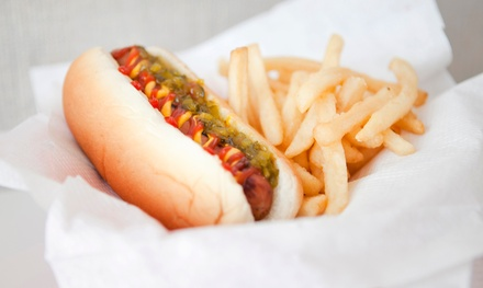 Specialty Hot Dog Meal for Two or Four at Hot Dog Caboose (Up to 44% Off)