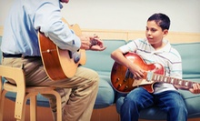$29 for Four 30-Minute Private Music Lessons at The Lesson Factory ($109 Value)