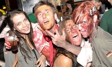 Two Survivor or Zombie Admissions to Zombie Bar Crawl on Saturday, April 11 fromLazyday.com(Up to 60% Off)