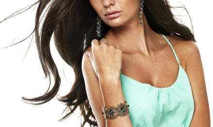 Up to 70% Off spray tan at Salon Exte and Bouitqe