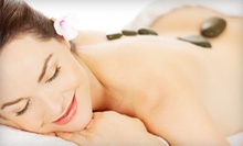 60-Minute Signature Massage or Hot-Stone Massage with Scalp and Reflexology Massage at Escape Day Spa (Up to 63% Off)
