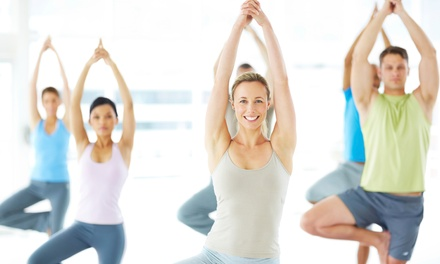One Month of Unlimited Yoga Classes for One or Two at The Yoga Center (Up to 65% Off)